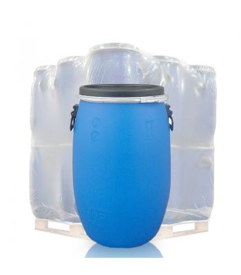 60L Blue Open Top Keg